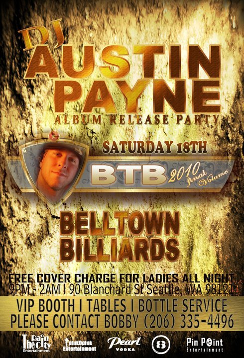 Austin Payne Album Release Party